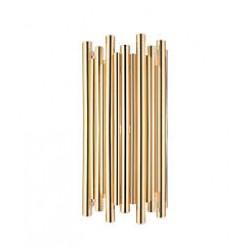 Aplica moderna cu dispersor metalic auriu 1626 Zambelis