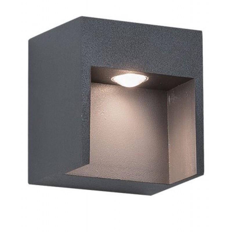 Aplica LED exterior cu structura metalica E 111 Zambelis